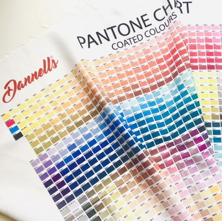 Fabric Printing Colour Charts
